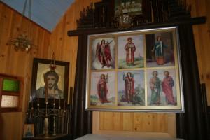 Notranjost kapelice